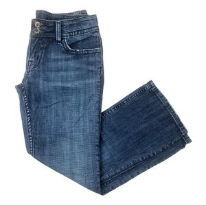 """Miss Me """"Red"""" Lucy cropped jeans flap pockets - 8"""